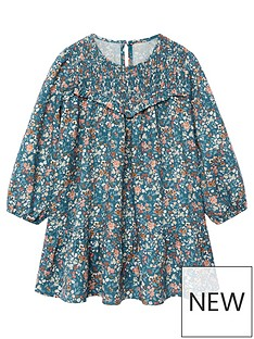 mango-baby-girls-floral-skater-dress-light-green