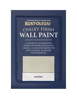 Rust-Oleum Chalky Wall Paint Tester Sachet Oyster 10Ml