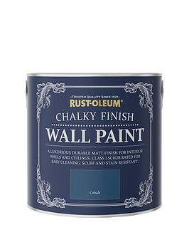 rust-oleum-chalky-finish-25-litre-wall-paint-ndash-cobalt