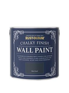 rust-oleum-chalky-finish-25-litre-wall-paint-ndash-black-sand