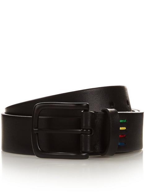 ps-paul-smith-mens-zebra-logo-leather-belt--nbspblack