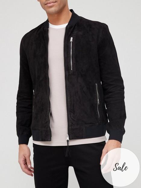 allsaints-kemble-suede-bomber-jacket-black