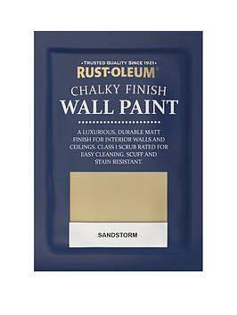Rust-Oleum Chalky Finish Wall Paint Tester Sachet – Sandstorm