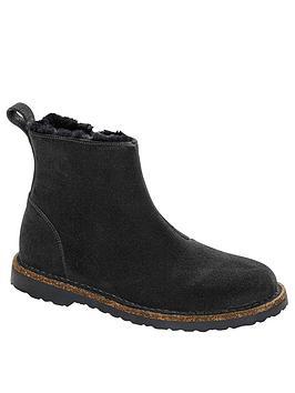 birkenstock-melrose-shearling-ankle-boot-black
