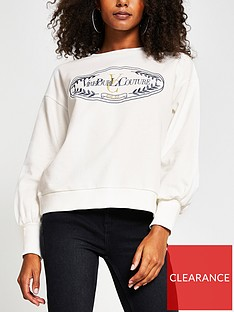 river-island-embroidered-blouson-sleeve-jumper-white