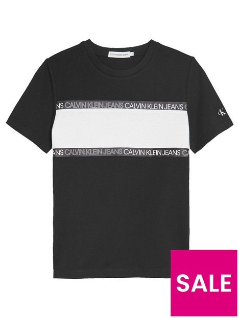 calvin-klein-jeans-boys-logo-tape-colour-block-t-shirt-black
