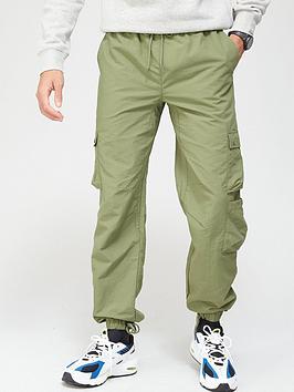 Russell Athletic Cargo Pants - Khaki, Khaki, Size S, Men