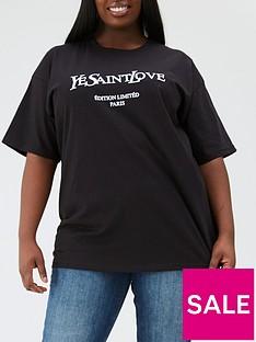 ax-paris-curve-ysw-printed-t-shirt--nbspblack
