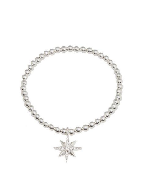 simply-silver-sterling-silver-north-star-stretch-bracelet
