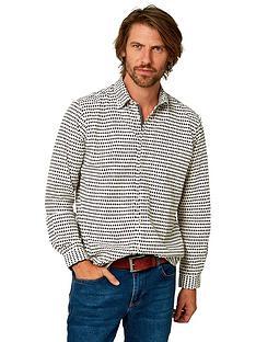 joe-browns-spot-on-shirt-creamnbsp