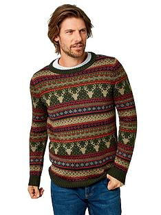 joe-browns-festive-fairisle-knit-olivenbsp