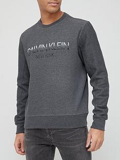 calvin-klein-tone-on-tone-logo-sweatshirt-grey