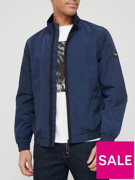 calvin-klein-crinkle-nylon-easy-bomber-jacket-navy