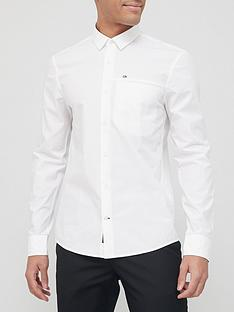 calvin-klein-slim-fit-stretch-poplin-shirt-white