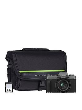 fujifilm-x-t200-mirrorless-camera-with-15-45-mm-f35-56-xc-zoom-lens-64gb-sd-card-amp-bag-dark-silver