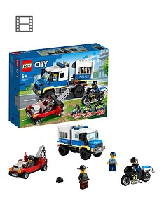 LEGO City Police Prisoner Transport Truck Toy 60276 Best Price, Cheapest Prices