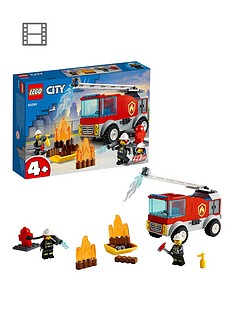 LEGO City Fire Ladder Truck Building Set 60280 Best Price, Cheapest Prices