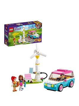 Lego Friends Olivia'S Electric Car Toy 41443 Best Price, Cheapest Prices