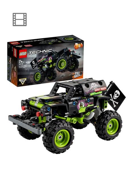 lego-technic-monster-jam-grave-digger-2-in-1-set-42118