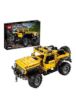 Lego Technic Jeep Wrangler Toy Car 42122