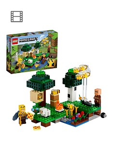 lego-minecraft-the-bee-farm-building-set-21165