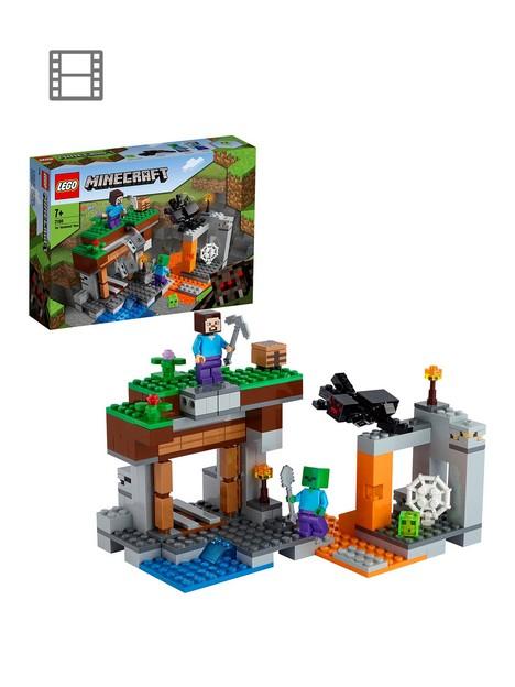 lego-minecraft-the-abandoned-mine-building-set-21166