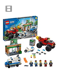 LEGO City Police Monster Truck Heist Best Price, Cheapest Prices