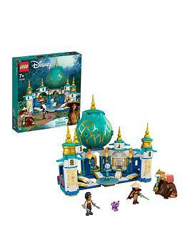 LEGO 43181 Disney Princess Raya and the Heart Palace Playset, Castle Toy with Namaari Minidoll, Tuk Tuk and Serlot Figures