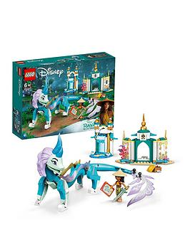 Lego Disney Princess Raya And Sisu Dragon Playset 43184