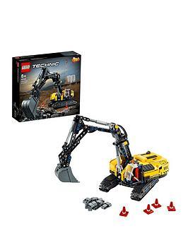 Lego Technic Heavy-Duty Excavator Building Set 42121