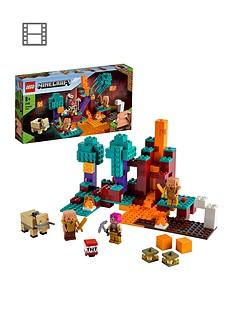 lego-minecraft-the-warped-forest-building-set-21168