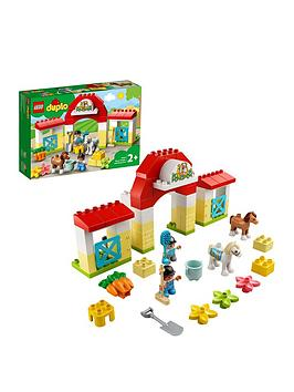 Lego Duplo Town Horse Stable And Pony Care Toy 10951