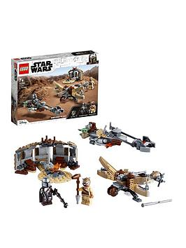Lego Star Wars The Mandalorian Trouble On Tatooine Set 75299 Best Price, Cheapest Prices