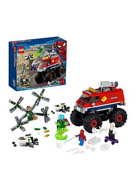 Lego Super Heroes Spider-Man'S Monster Truck Vs Mysterio Toy 76174
