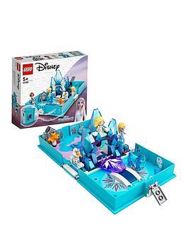 lego disney princess frozen 2 elsa and the nokk storybook set 43189