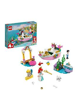 Lego Disney Princess ArielS Celebration Boat Toy 43191