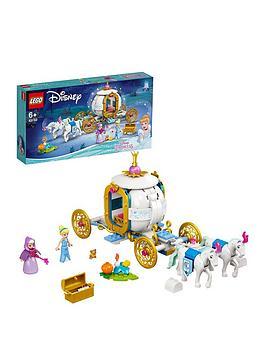 Lego Disney Princess CinderellaS Royal Carriage Toy 43192