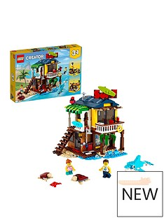 lego-creator-3-in-1-surfer-beach-house-building-set-31118