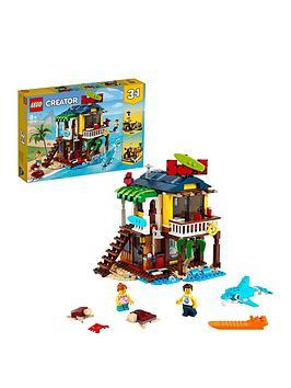 lego-creator-3-in-1-surfer-beach-house-building-set-31118