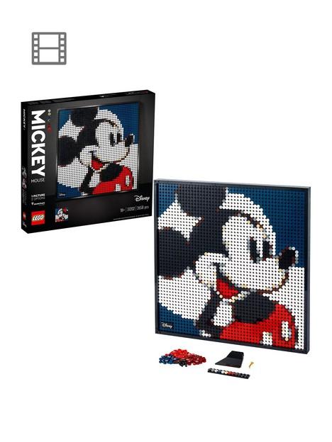 lego-art-nbspdisneyrsquos-mickey-mouse-poster-canvas-set-31202