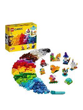Lego Classic Creative Transparent Bricks Medium Set 11013
