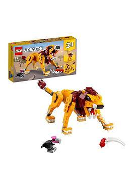 lego-creator-3-in-1-wild-lion-building-set-31112