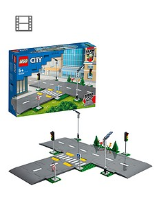 LEGO City Road Plates Building Set with Traffic Lights 60304 Best Price, Cheapest Prices