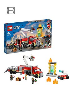 LEGO City Fire Command Unit with Toy Fire Engine 6028 Best Price, Cheapest Prices