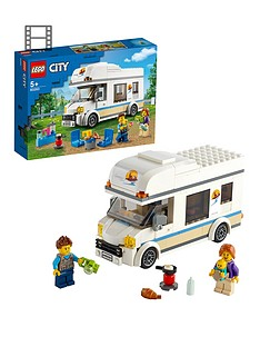 LEGO City Great Vehicles Holiday Camper Van Toy Car 60283 Best Price, Cheapest Prices