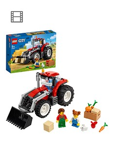 LEGO City Great Vehicles Tractor Toy & Farm Set 60287 Best Price, Cheapest Prices