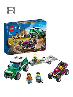 LEGO City Great Vehicles Race Buggy Transporter Toy 60288 Best Price, Cheapest Prices