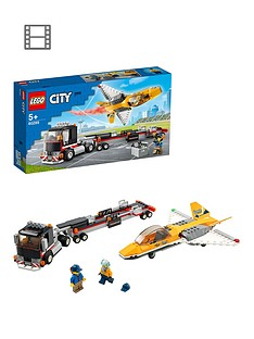LEGO City Great Vehicles Airshow Jet Transporter Toy 60289 Best Price, Cheapest Prices