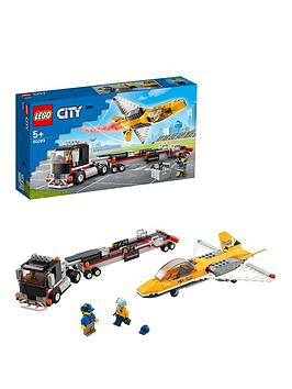 Lego City Great Vehicles Airshow Jet Transporter Toy 60289