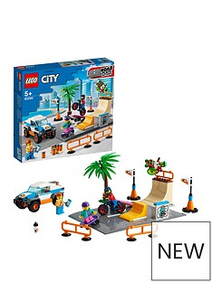 LEGO City Community Skate Park Building Set 60290 Best Price, Cheapest Prices